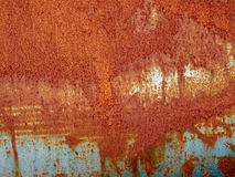 Iron metal surface rust Stock Photography