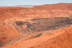 Iron Mine. In Western Australia Stock Photos