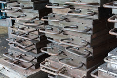 Iron mold Stock Image