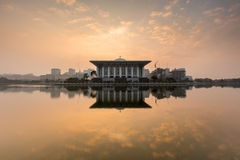 Iron Mosque, Putrajaya. Iron Mosque, or Masjid Sultan Mizan located at Putrajaya, Malaysia Stock Image