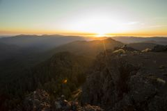 Iron Mountain Hike in Oregon Stock Photography