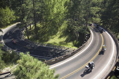 Iron Mountain Road, Black Hill Stock Image