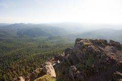 Iron Mountain vandring i Oregon Royaltyfri Foto