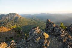 Iron Mountain vandring i Oregon Arkivfoton