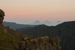 Iron Mountain vandring i Oregon Royaltyfria Bilder