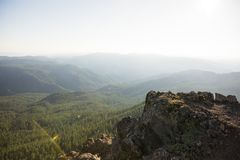 Iron Mountain-Wanderung in Oregon Lizenzfreies Stockfoto
