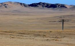 Iron mountains of namibia stock photography