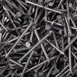 Iron Nails. Macro shot of some iron nails for the background Royalty Free Stock Images