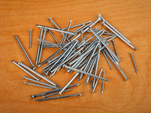 Iron nails Royalty Free Stock Photo