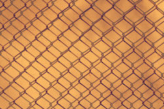 Iron net for background Stock Photography