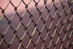 Iron net Stock Image