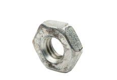 Iron nut macro Stock Images