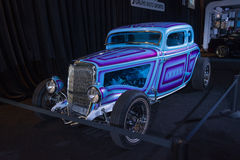 Iron Orchid hot rod Royalty Free Stock Photo