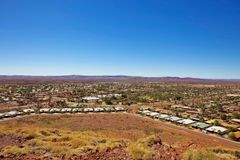 Iron Ore Country Stock Image