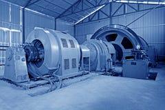 Iron ore mechanical equipment lubrication station Stock Photo