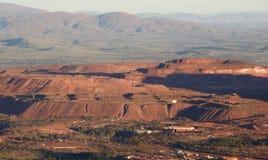 Iron ore mine. Royalty Free Stock Images