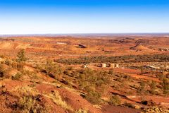 Iron Ore Mine. Royalty Free Stock Image