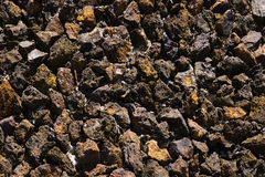 Iron ore mineral Royalty Free Stock Photos