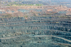 Iron ore mining. Zheleznogorsk. Russia Stock Photography