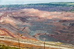 Iron ore mining. Zheleznogorsk. Russia Royalty Free Stock Photography