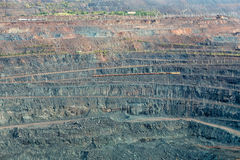 Iron ore mining. Zheleznogorsk. Russia Royalty Free Stock Photography