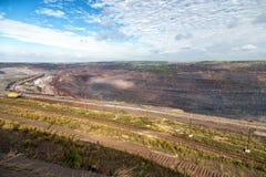 Iron ore mining. Zheleznogorsk. Russia Stock Photo