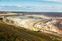 Iron ore mining. Zheleznogorsk. Russia Stock Image