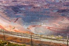 Iron ore mining. Zheleznogorsk. Russia Stock Photos