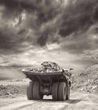 Iron ore opencast Royalty Free Stock Photo