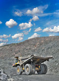 Iron ore opencast Royalty Free Stock Photography