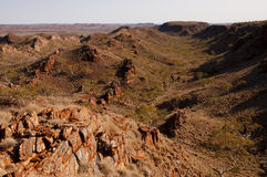 Iron Ore Rocks - Australian Outback Royalty Free Stock Images