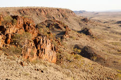 Iron Ore Rocks - Australian Outback Royalty Free Stock Photography