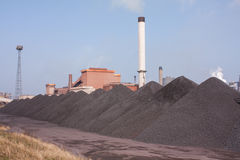 Iron ore. For steel making Stock Image