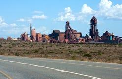 Iron ore terminal Stock Image