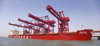 Iron ore terminal Royalty Free Stock Photos