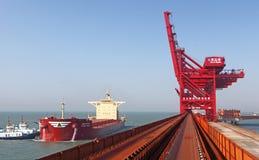 Iron ore terminal Stock Images