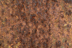 Iron oxide on the metal sheetbackground Royalty Free Stock Photo