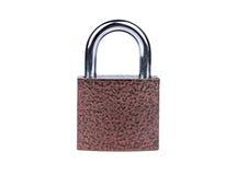 Iron a padlock Stock Photo