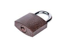 Iron a padlock Royalty Free Stock Photography