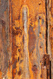 Iron panels covered in rust background Stock Images