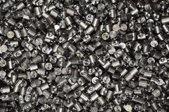 Iron parts for CNC machining ready stock photo
