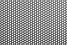 Iron Perforated Sheet Royalty Free Stock Photo