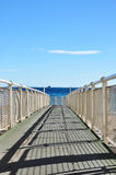Iron pier Stock Photography