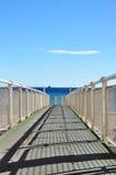 Iron pier Stock Photography