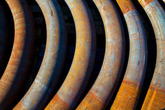Iron pipe Royalty Free Stock Images