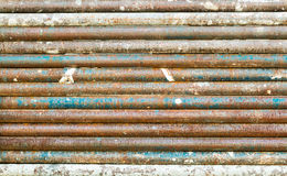 Iron pipes Royalty Free Stock Photo