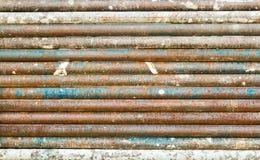 Iron pipes Royalty Free Stock Photo