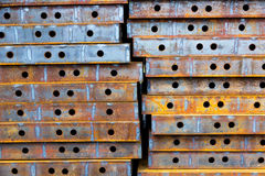 Iron plate Royalty Free Stock Image