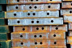 Iron plate Stock Image