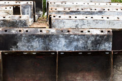 Iron plate Royalty Free Stock Photography
